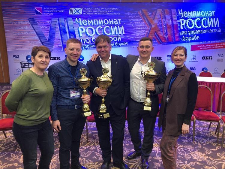 Краснодарец победил в чемпионате по управленческой борьбе