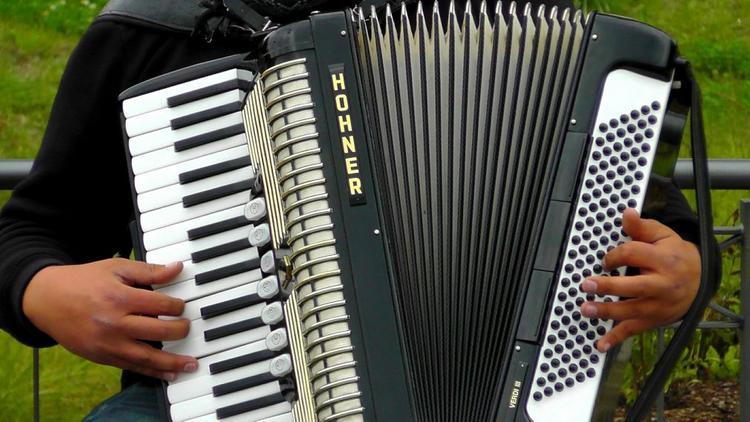 Дмитрий Нагиев опубликовал видео, как играет на аккордеоне перед темнокожими полицейскими