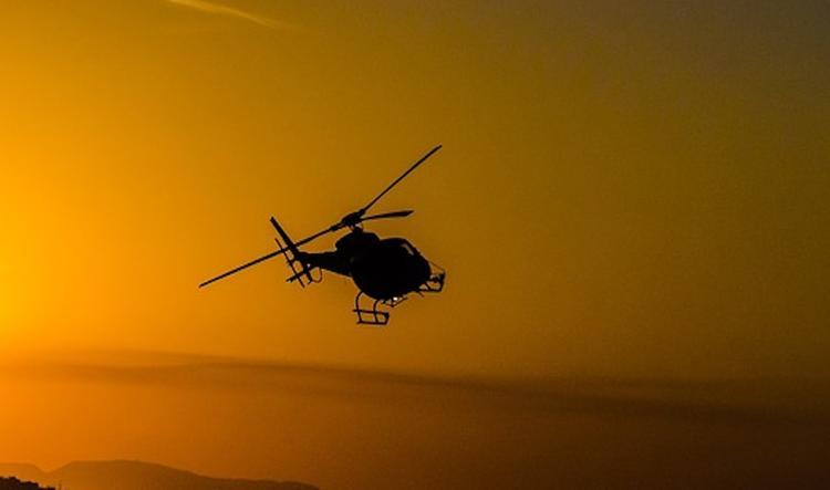 Вертолет потерпел крушение под Астраханью