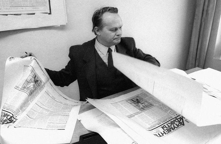 28 февраля Первому главному редактору газеты «Аргументы и факты» Владиславу Андреевичу Старкову исполнилось бы 80 лет