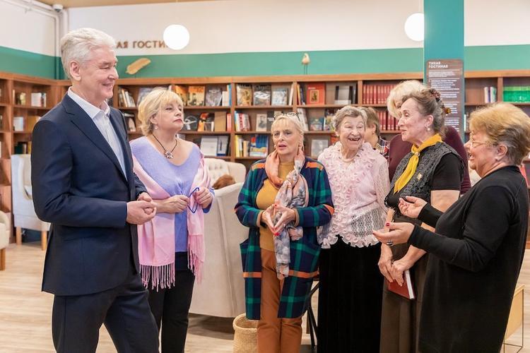 Собянин рассказал о создании клубов для общения пожилых людей