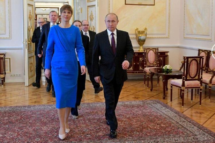 Путин обсудил с президентом Эстонии меры по предотвращению распространения коронавируса