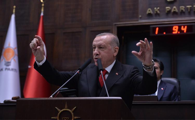 Появилось видео ввода турецких войск в Идлиб
