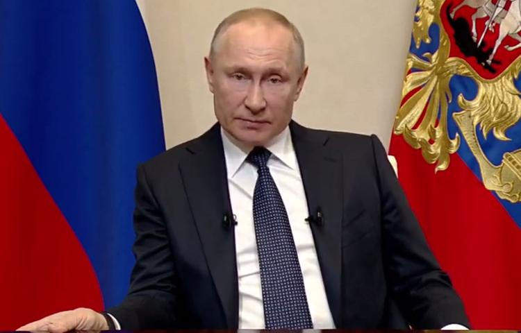 Путин назвал тех, для кого хочет временно отменить почти все налоги из-за коронавируса