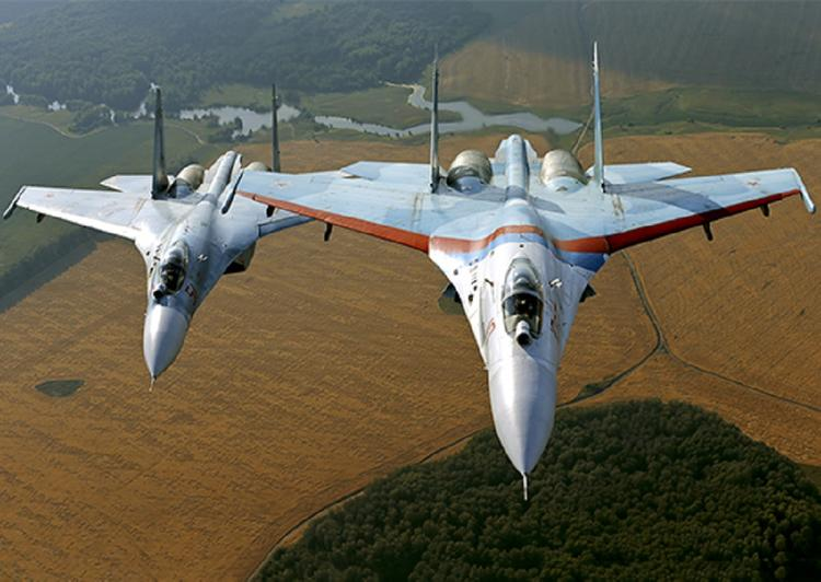 К месту падения Су-27 отправили два буксира и теплоход