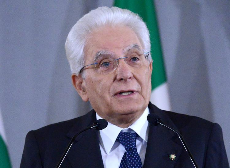 Президент Италии обратился к нации в связи с пандемией коронавируса