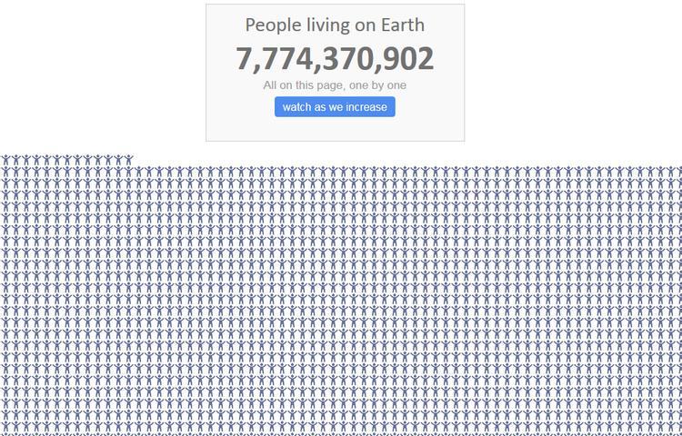 Умерших в мире меньше, чем родившихся