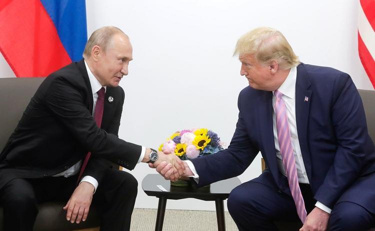 Состоялся разговор Владимира Путина и Дональда Трампа