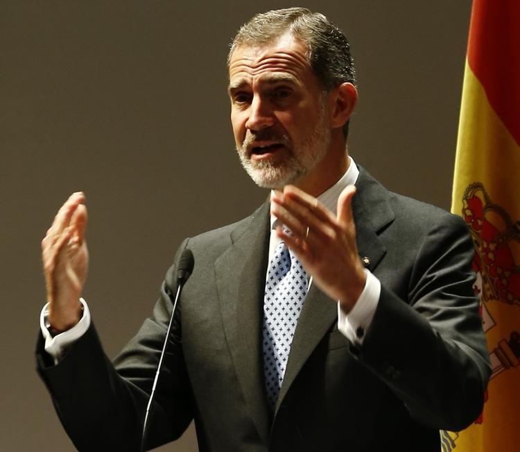 Король Испании Филипп VI отказал в жалованье своему отцу