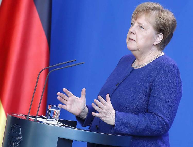 Что сказала Меркель в обращении к народу Германии