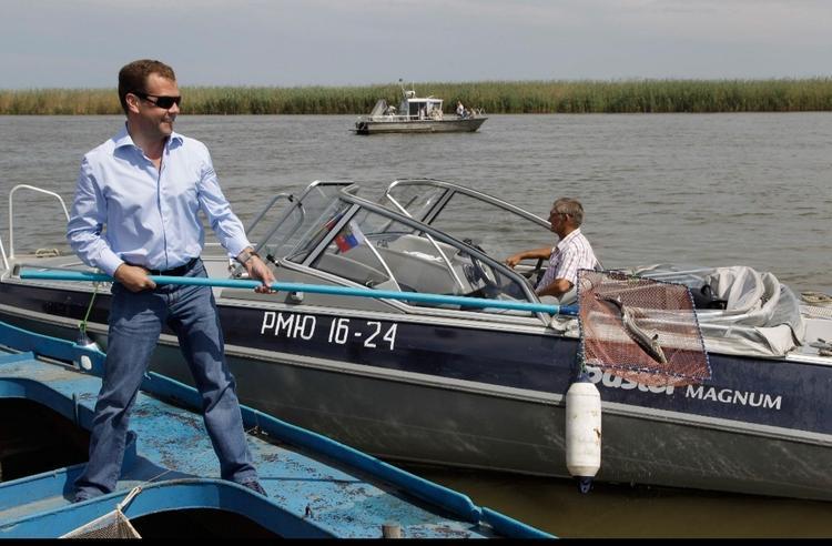 В Астраханской области нашли неплохое место для карантина Дмитрия Медведева