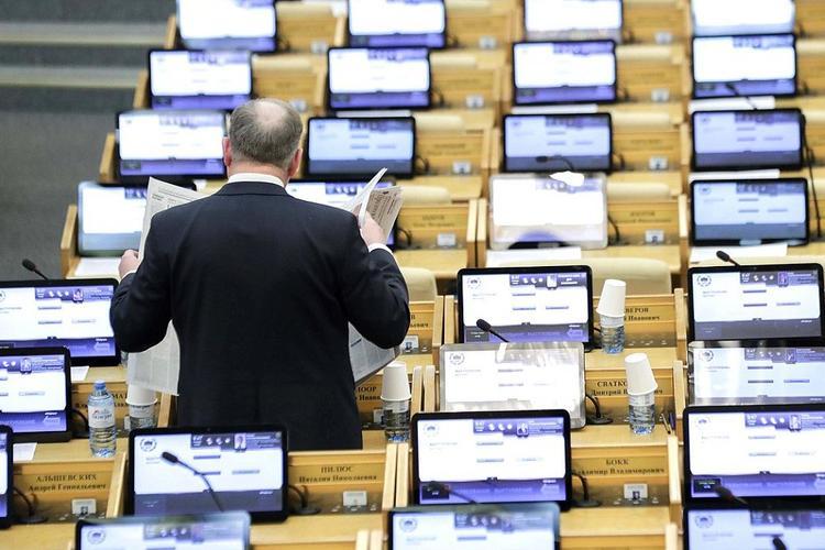 Отчет правительства в Госдуме перенесен «на более поздний срок»