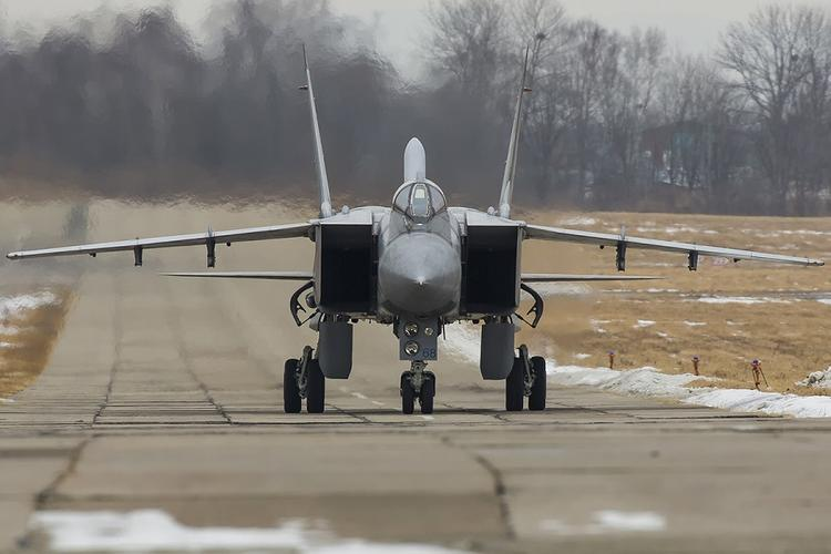 Истребитель МиГ-31 ВВС Казахстана  разбился  под Карагандой