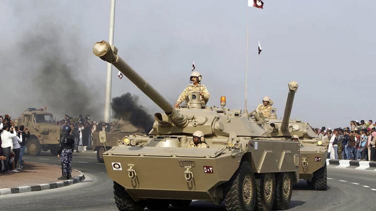 Стрельба и взрывы в Катаре