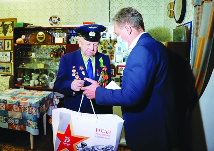 РУСАЛ поздравил ветеранов и тружеников тыла