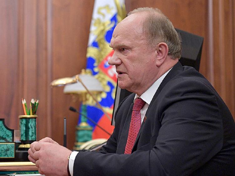 Для Геннадия Зюганова и Максима Фадеева въезд на Украину закрыт до 2023 года