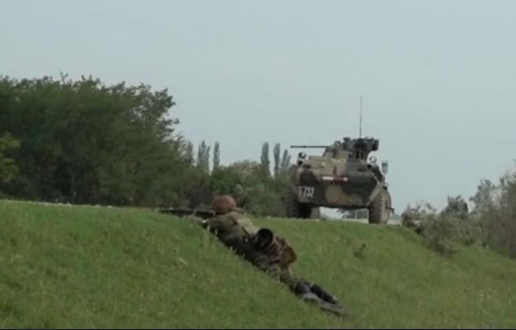 Появилось видео спецоперации в Дагестане