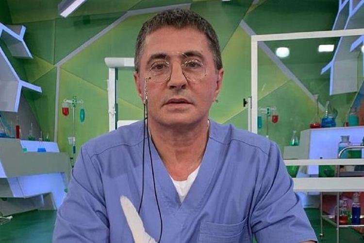 Доктор и телеведущий Мясников назвал число «реальное зараженных» коронавирусом в России