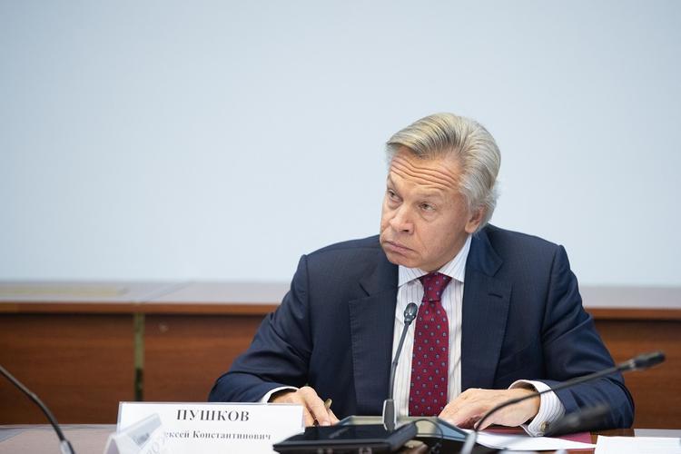 Пушков оценил планы Украины ликвидировать администрации ДНР и ЛНР