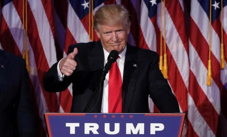 Twitter опять скрыл твит президента Трампа