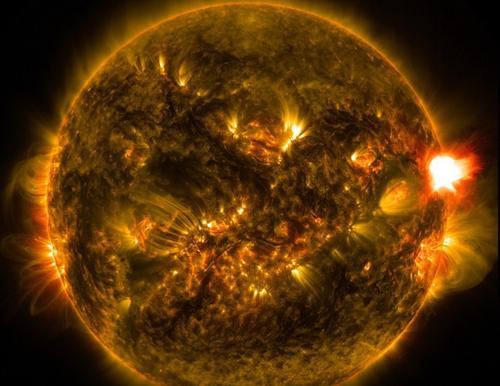 Мощнейшая с 2017 года вспышка зафиксирована на Солнце