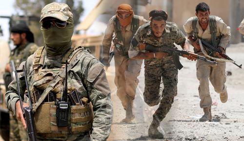 Как ЧВК «Вагнер» уничтожают сирийских наемников в Ливии