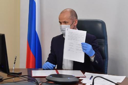 Бречалов сообщил о принудительной госпитализации заболевших коронавирусом и закрытии парков