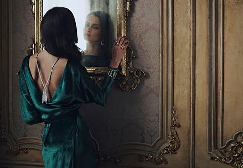 Светлану Бондарчук так впечатлила красота Паулины Андреевой, что она рассказала о ней мужу Федору Бондарчуку