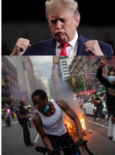 Почему Дональд Трамп занял жесткую позицию в отношении протестующих