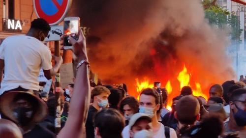Как волна американского протеста перекинулась на города Европы
