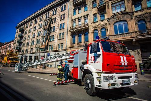 В Боткинской больнице в Петербурге произошел небольшой пожар. Есть жертва отравления угарным газом