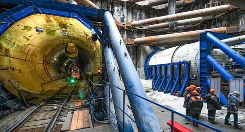 Строительная готовность Большой кольцевой линии метро составляет 54%
