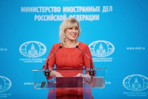 Путин своим указом присвоил Марии Захаровой ранг чрезвычайного и полномочного посла