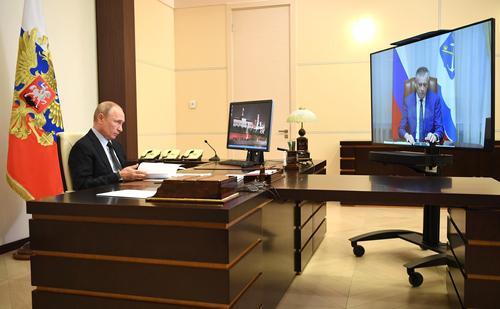 Путин одобрил выдвижение Дрозденко губернатором Ленинградской области на третий срок