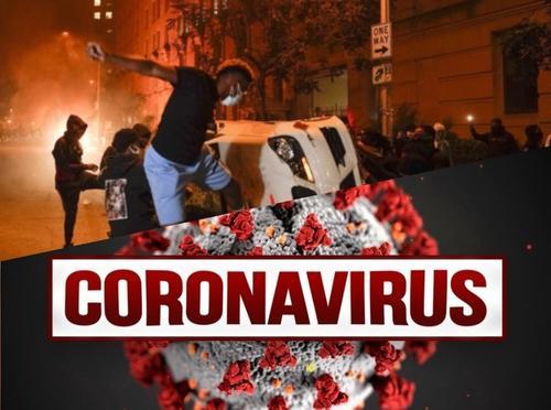 Связь между протестами и коронавирусом очевидна, считают американцы