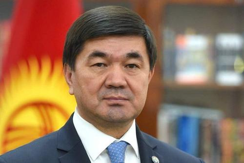 Премьер-министр Киргизии Мухаммедкалый Абылгазиев подал в отставку