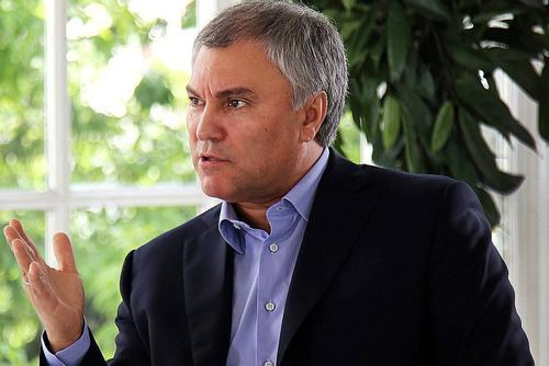 Спикер Госдумы заявил, что «после Путина будет Путин»