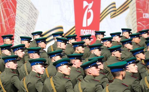 На Красной площади в Москве проходит Парад в честь 75-летия Победы