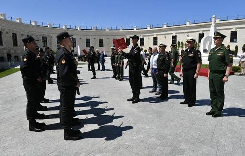 В России воины-спортсмены приняли присягу