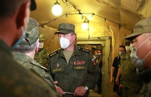 Военные развернули в Тыве мобильный госпиталь