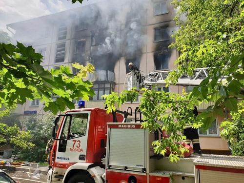 Названа причина взрыва и пожара в доме на северо-востоке Москвы