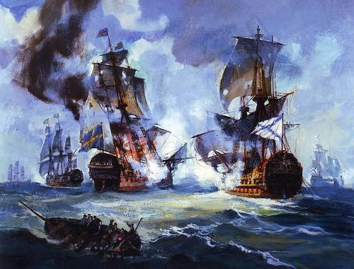 В этот день в 1790 году произошло Выборгское морское сражение