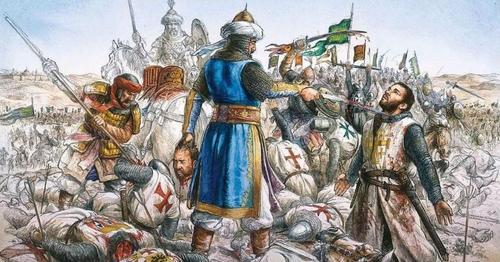 В этот день в 1187 году Саладин разбил крестоносцев