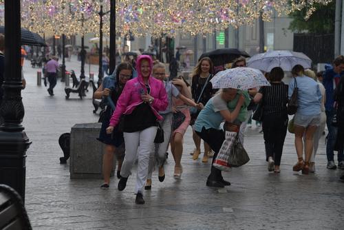 «Желтый» уровень погодной опасности объявлен в Москве