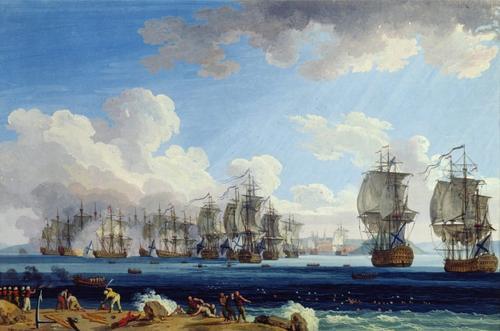 В этот день в Хиосском проливе в 1770 году российский флот вступил в бой с турецким