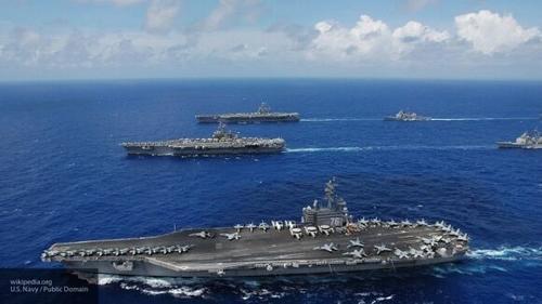 США направили в Южно-китайское море две ударные авианосные корабельные группы