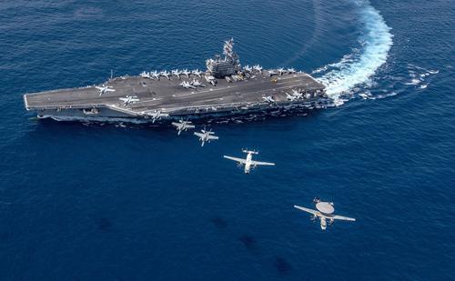 МИД КНР: Авианосцы ВМС США провели учения в Южно-китайском море для демонстрации силы