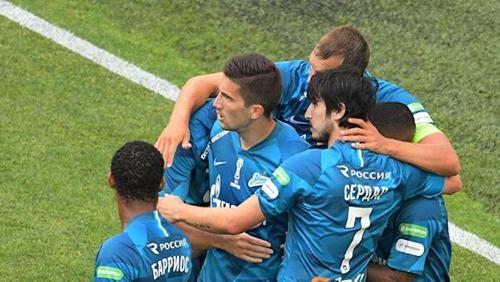 «Зенит» - в ранге чемпиона победил «Сочи» 2:1