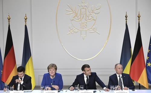 Власти Украины настаивают на проведении в ближайшие месяцы саммита «нормандской четверки»