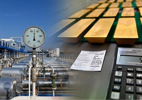Экспорт российского золота превысил экспорт трубопроводного газа